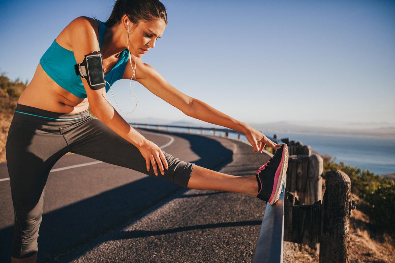 Estiramientos para musculatura posterior de la pierna
