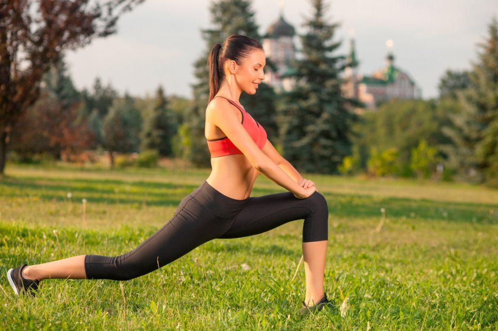 estiramientos rodillas antes de correr