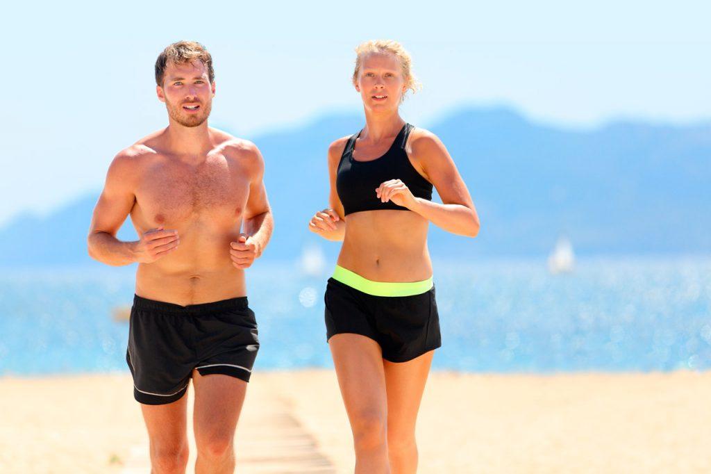 Bajar de peso corriendo antes y despues