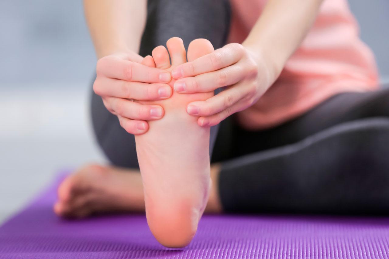 dolor de dedos pies